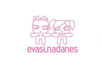 Logotipo de Evasinadanes, una marca de amor entre chicas y mujeres LTB